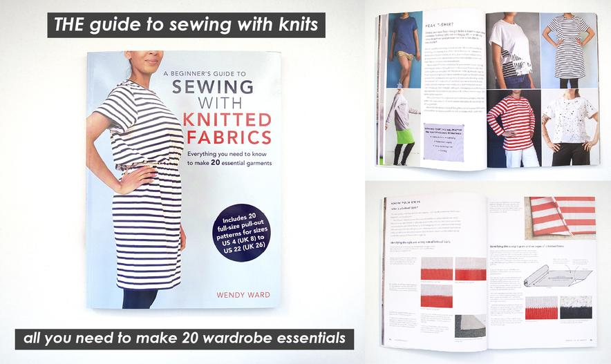 beginners guide to sewing with knitted fabrics
