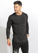 UNISEX DRY-FIT LONG SLEEVE - BLACK