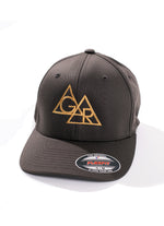 GR DOUBLE TRIANGLE GREY BASEBALL CAP