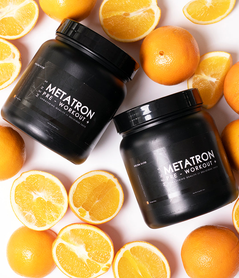 METATRON+ Orange Citrus Pre Workout