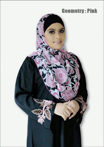 Butterfly Shawl : Aleesya Printed