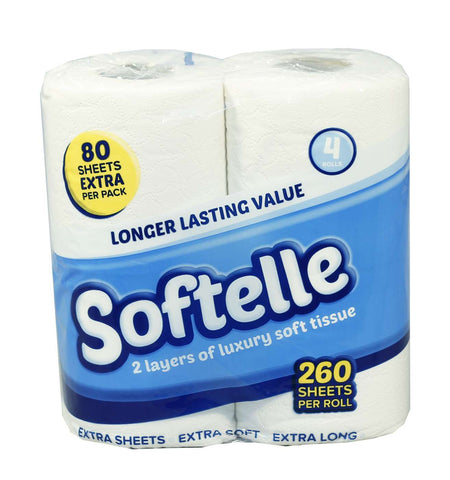 Softelle Luxury Toilet Rolls 2 Ply x 40