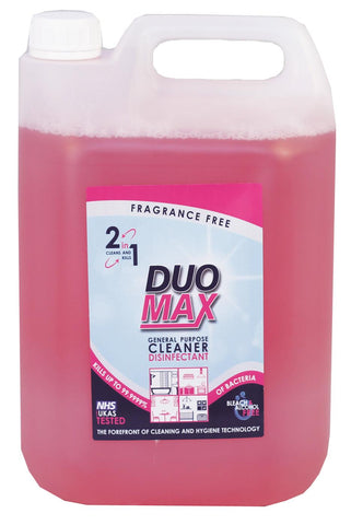 DuoMax General Purpose Cleaner and Disinfectant 2 x 5L