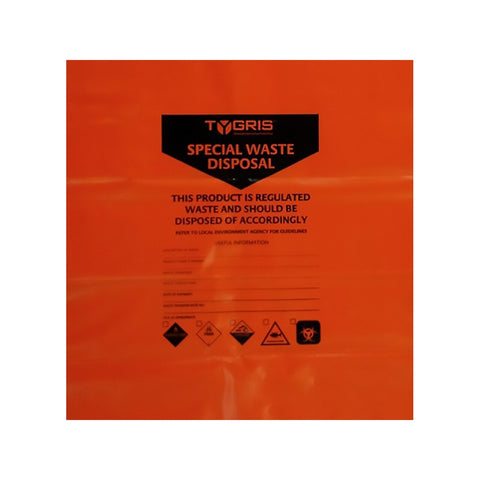 Contamination Special Waste Disposal Bags Tygris SKC586 x 50