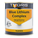 Blue Lithium Complex Grease Tygris TG8904 12/400gm, TG8905 12/500gm & TG8912 12.5kg