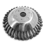 Wire Wheel Steel Head 6""