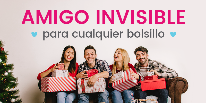 ¿Qué regalar a tu amig@ invisible?