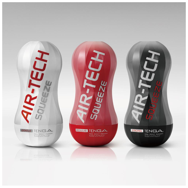 Masturbador Air Tech Squeeze Regular de Tenga