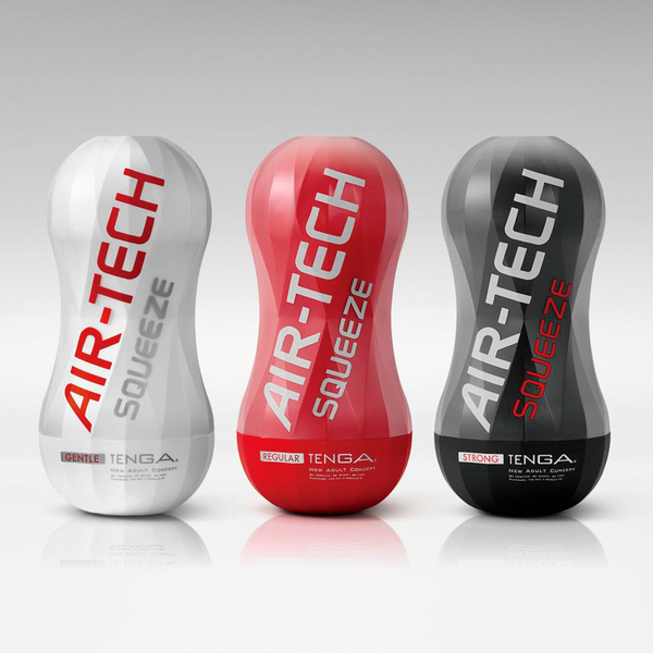 Masturbador Air Tech Squeeze Strong de Tenga