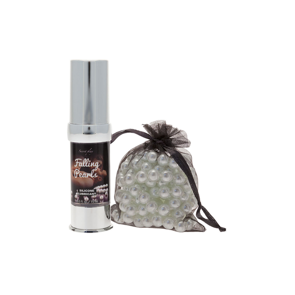 Lubricante silicona Falling Pearls de Secret Play