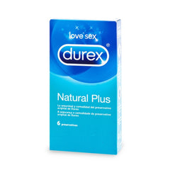 Preservativos Natural Plus de Durex