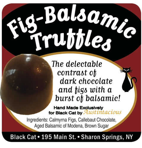 Fig-Balsamic Truffles! They're back!! Very Limited supply!