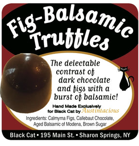 Fig-Balsamic Truffles! Very Limited supply!