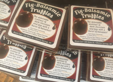 Load image into Gallery viewer, Fig-Balsamic Truffles! Very Limited supply!