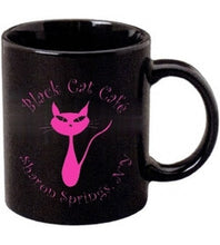 Load image into Gallery viewer, Black Cat Mugs