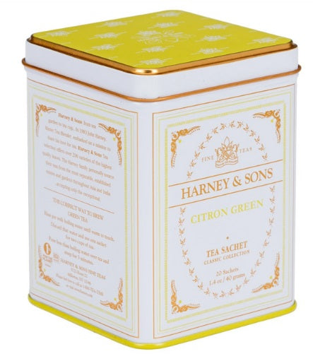 Citron Green, Harney Tea,  20 Tea Sachets