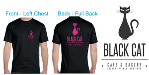 Black Black Cat Teeshirt