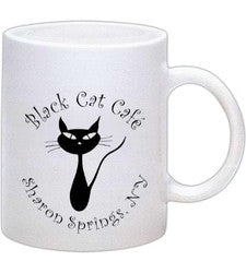 Black Cat Mugs are back! Plus a new Pink one!
