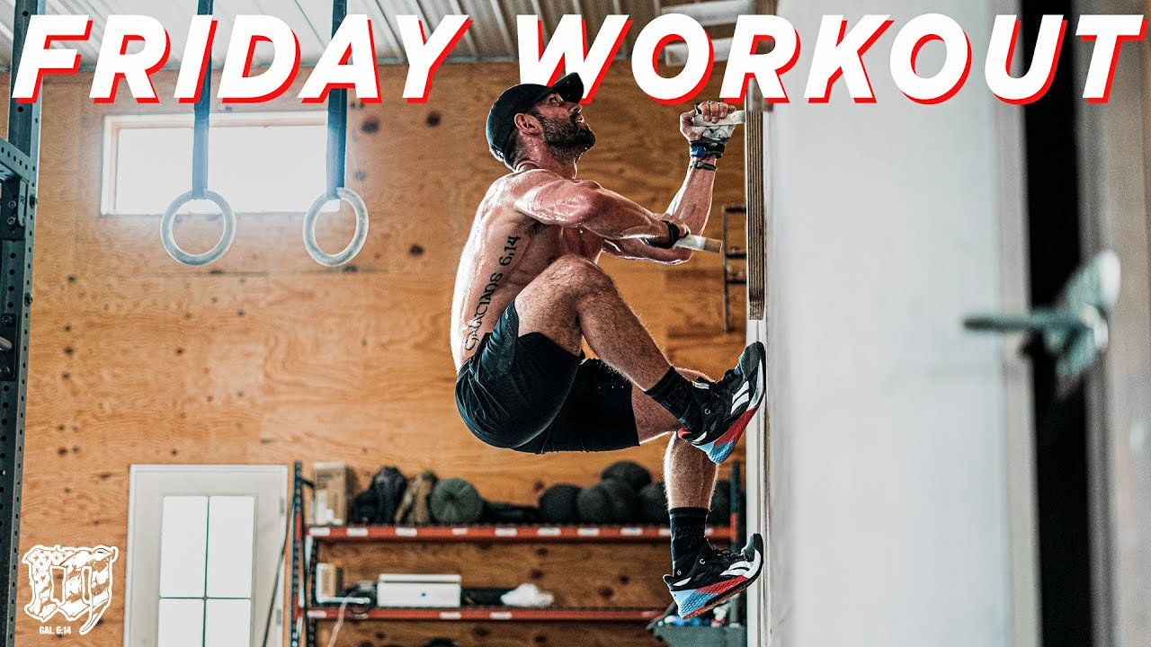 Running & Pegboards w/RICH // Friday Workout 11.06.20