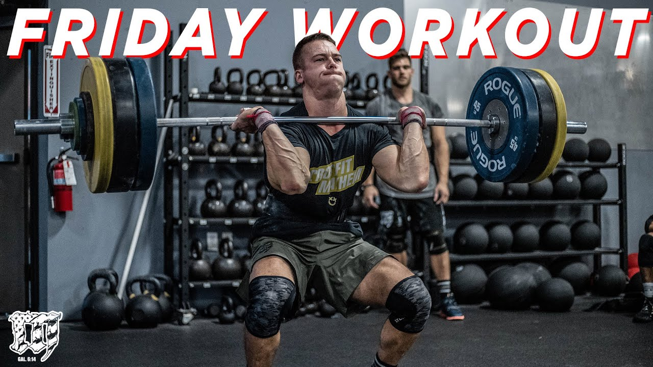 NEW YEAR // Sam Cournoyer Friday Workout 1.1.21