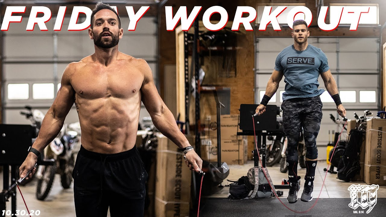 RICH FRONING & LUKE PARKER // Friday Workout 10.30.20