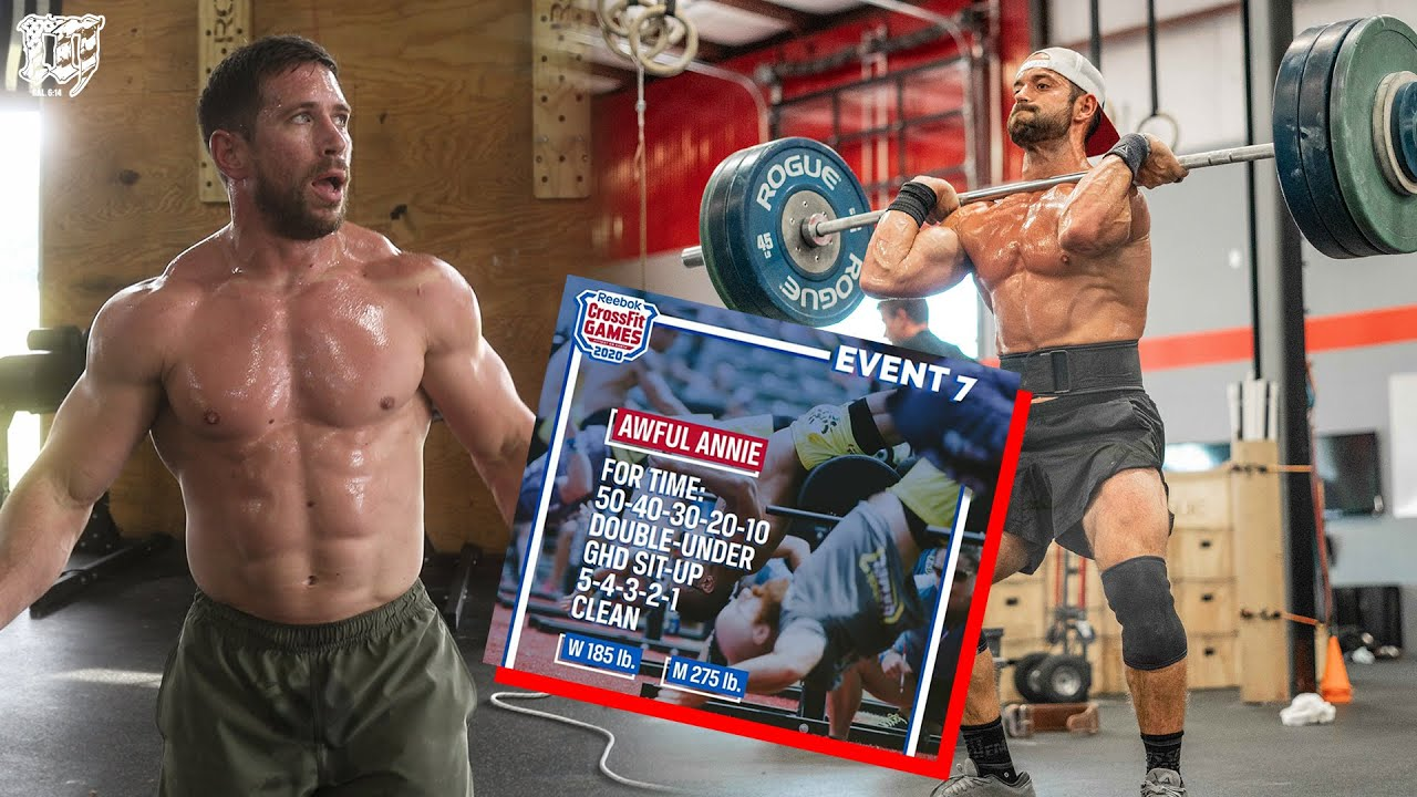 RICH FRONING & DAN BAILEY // 2020 CROSSFIT GAMES EVENT 7