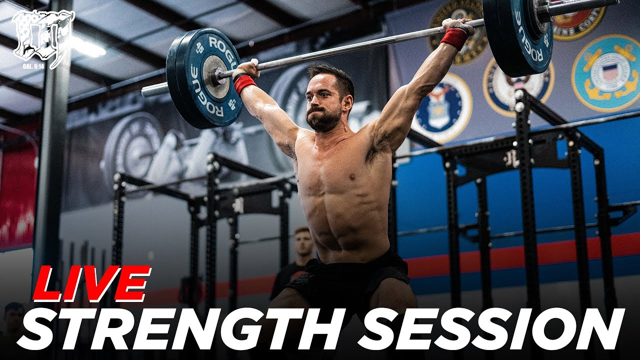 Lifting Session w/RICH FRONING // Mayhem Burgener Strength 2.17.21