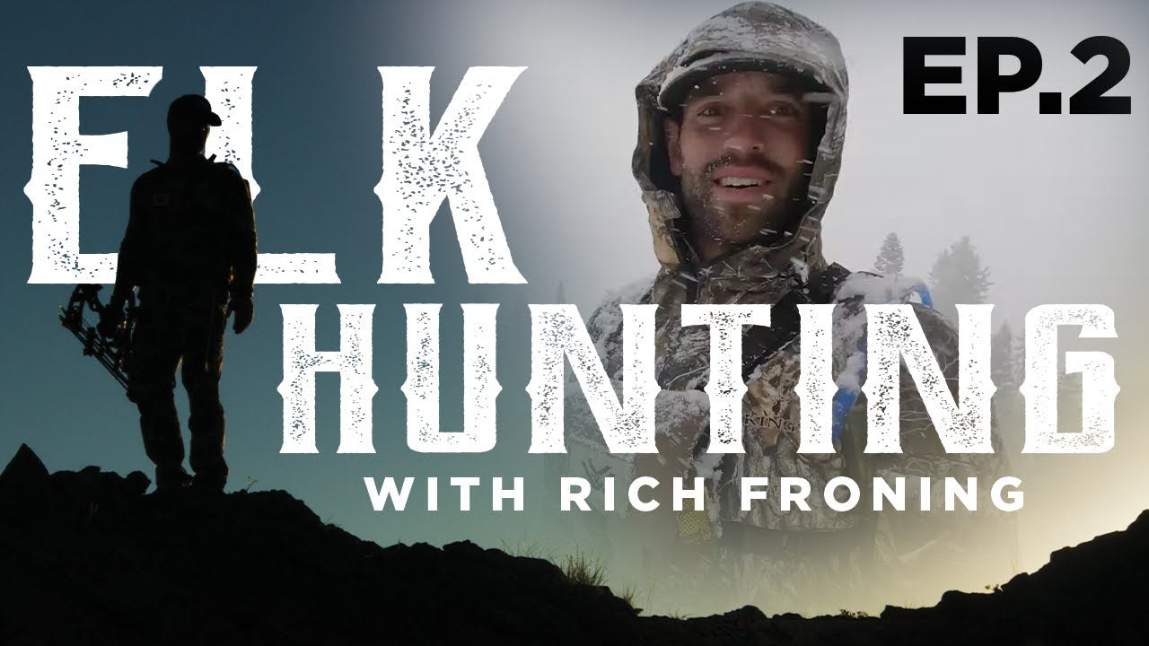 Tracking A Bull Elk For 8 HOURS // Elk Hunt w/Rich Froning EP. 2