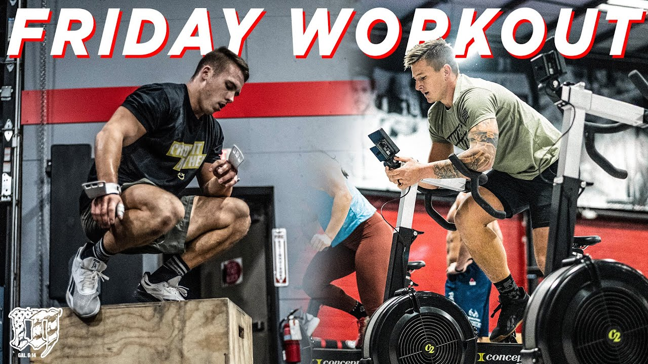 COURNOYER, HILL // Friday Workout 12.18.2020