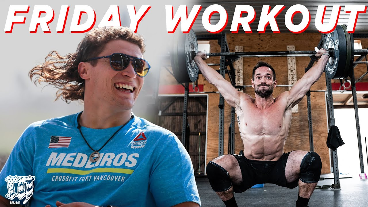 RICH FRONING & JUSTIN MEDEIROS // Friday Workout 12.04.20