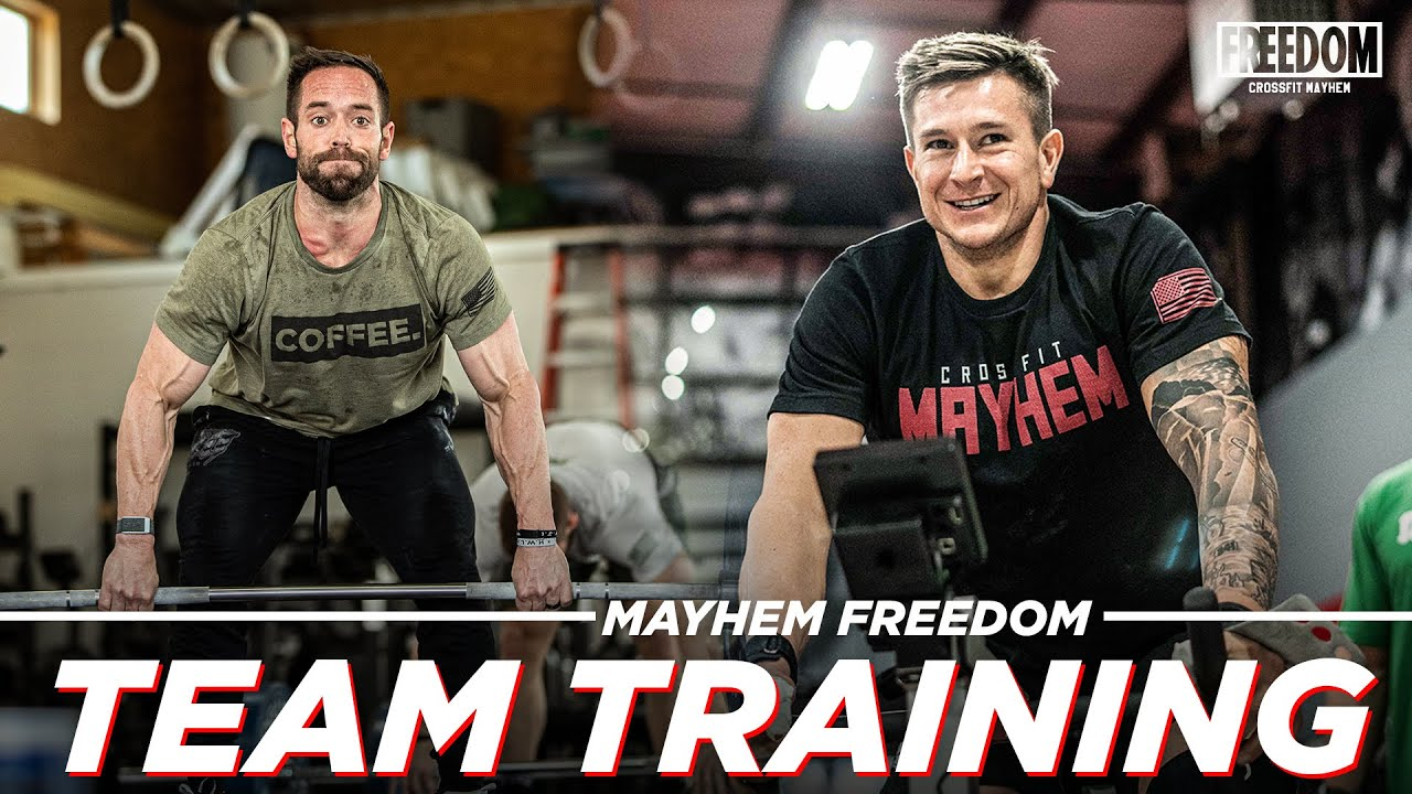 QUARTERFINALS PREP MAYHEM FREEDOM // Friday Workout 4.16.21
