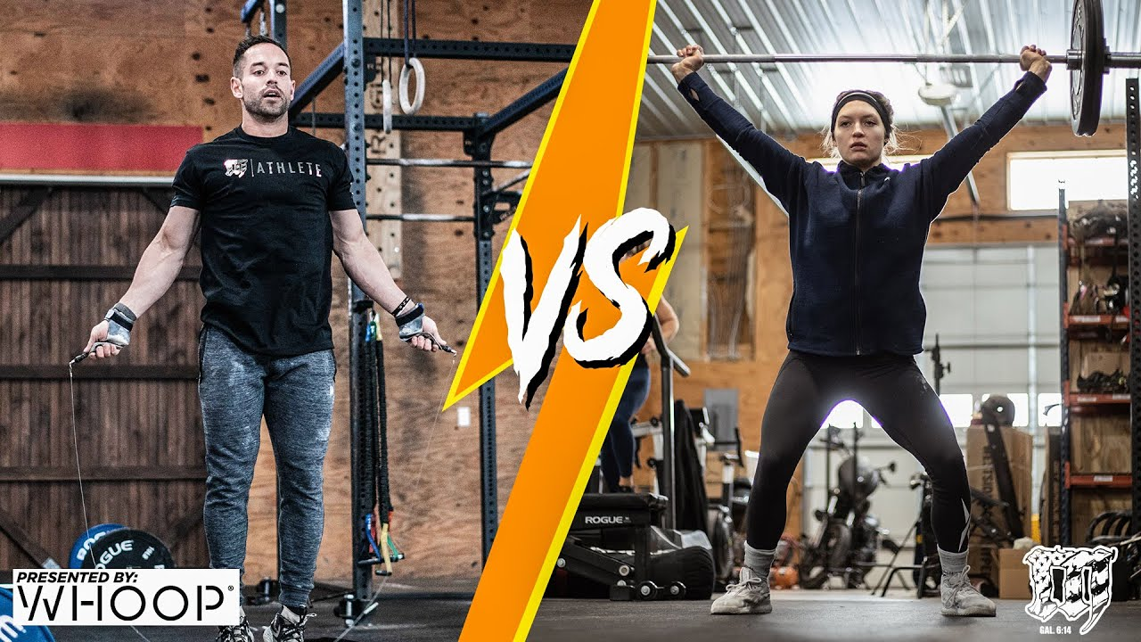 FRONING vs ADAMS // Friday Workout 2.12.21