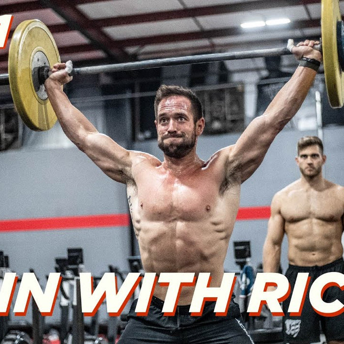 TRAIN WITH RICH 19 // FRIDAY
