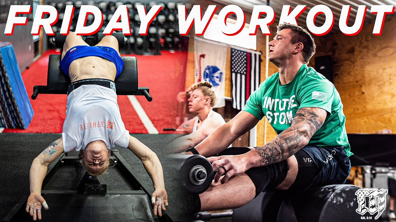 BACK TO WORK // Mayhem Freedom Friday Workout 4.30.21