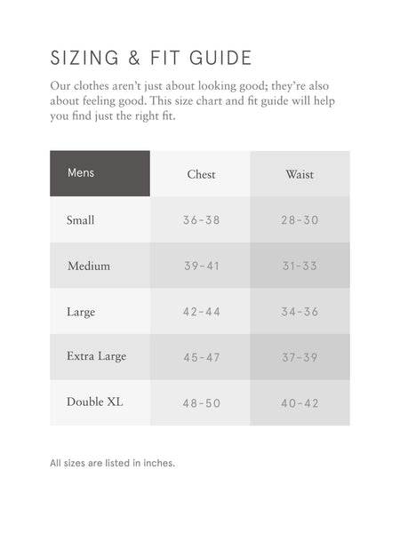 Alternative Apparel Size Chart