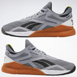 REEBOK NANO X // MEN'S // BLACK + WHITE + COOL SHADOW