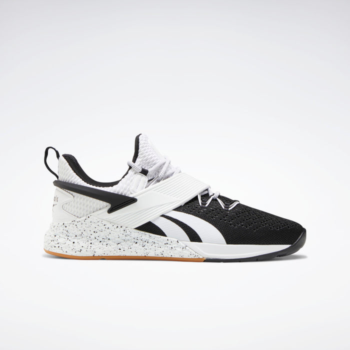 Men's Reebok Nano X Froning: Black + White