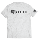 MAYHEM ATHLETE // T-SHIRT // HEATHER WHITE