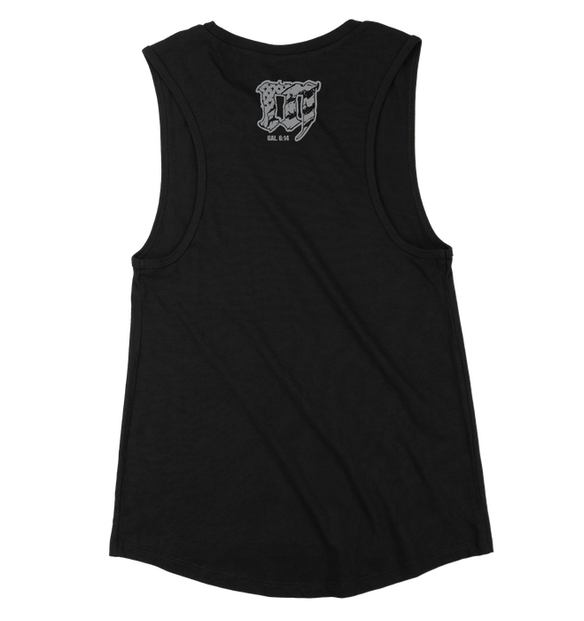 PRAY. Limited Edition Blackout Muscle Tank