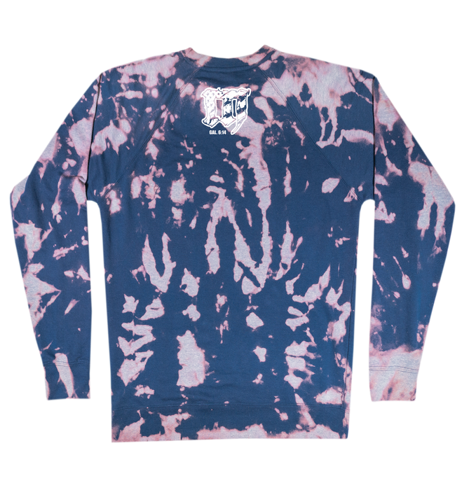 Limited Edition Bleached Navy Mayhem Sweatshirt
