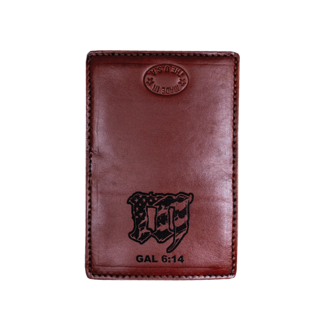 "MAYHEM ""M"" LEATHER WALLET"