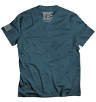 Fight This CFM Tee - Black Aqua