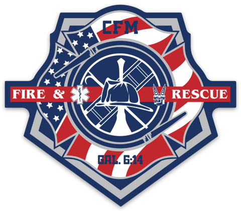 FIRST RESPONDER // STICKER // FIREFIGHTER