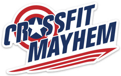 Mayhem Shield 2.0 Sticker