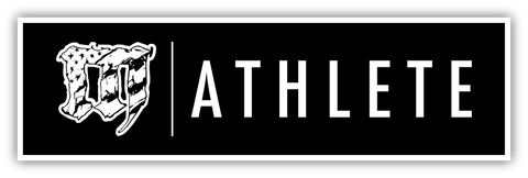 Mayhem Athlete Black Sticker