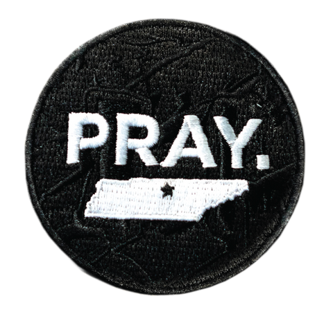PRAY. TENNESSEE STATE // PATCH