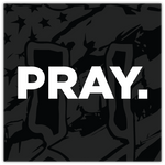 PRAY. // STICKER