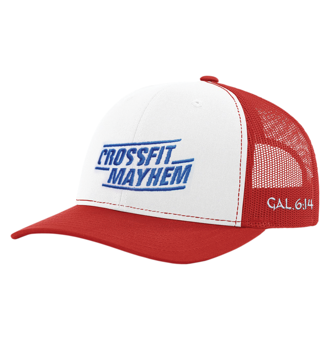 Classic Red CrossFit Mayhem Hat