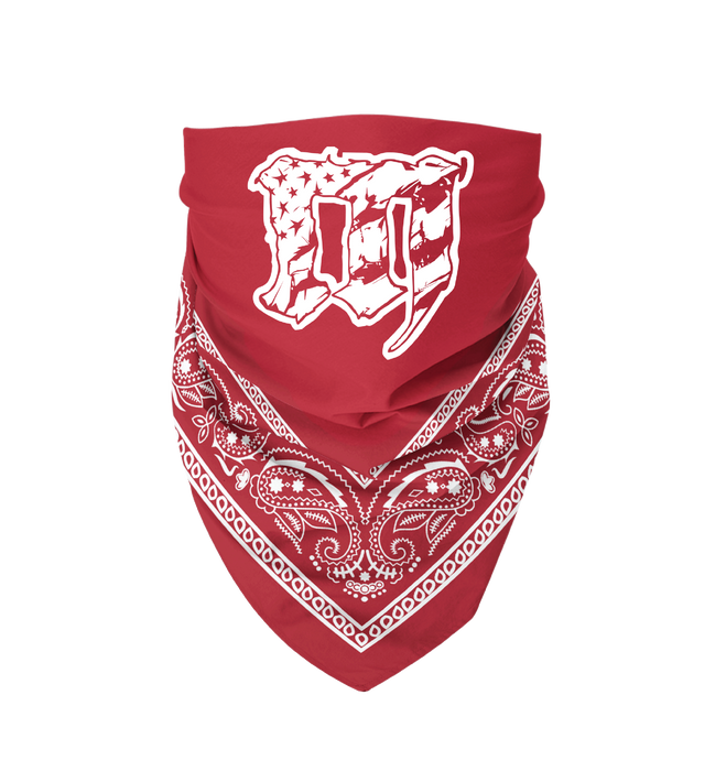 Mayhem Bandana: Red