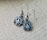 Handmade United States Army Earrings